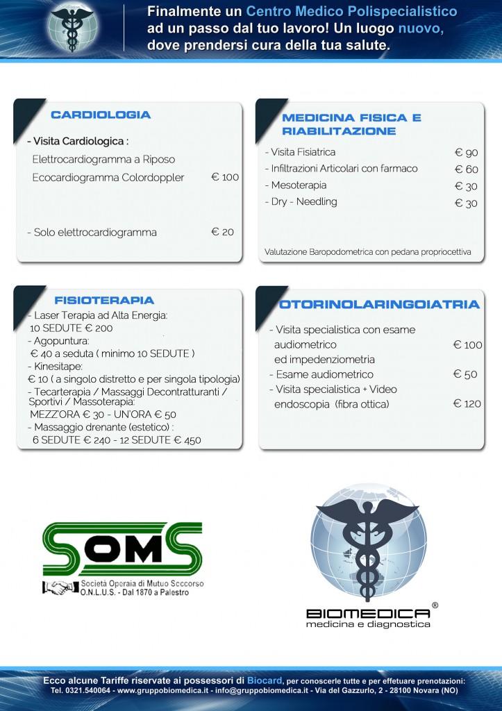 Convenzione con Biomedica Novara